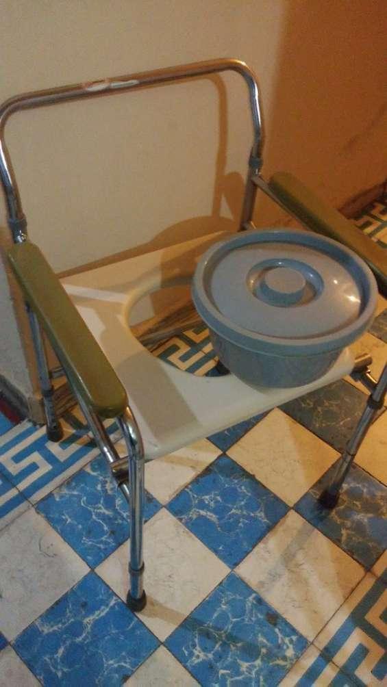 Silla cómodo, portátil, plegable, para wc, ducha