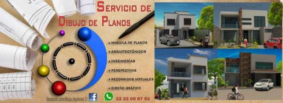 Servicio de dibujo de planos