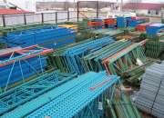 Venta de racks industriales,racks para tarimas,travesanos ,parrillas y mas servicios