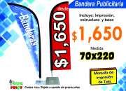 BANDERA PUBLICITARIA (YASIMA PRINT)
