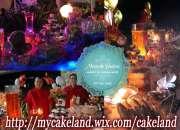 Mesa de dulces, candy bar