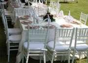 Renta sillas Tiffany y Mesas 3317861488 Sra Livier.  Contamos Con sillas Tiffany o silla p