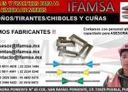 CHIBOLES - TIRANTES PARA CIMBRA