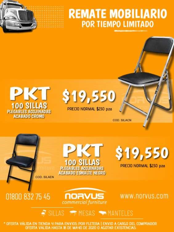 Promocion de sillas banqueteras